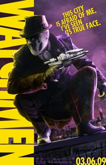 Nuevos carteles de la película de Watchmen [Cine]