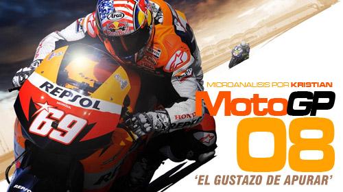 «MotoGP 08 es más que correcto» [Análisis]