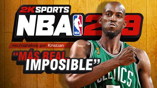 «NBA 2K9 es la NBA en tu consola. Punto Pelota.» [Análisis]