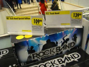 Rockband + instrumentos a 110 $ [Blogger en NYC]