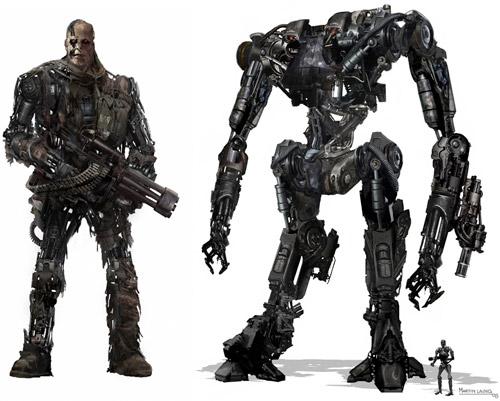Los Terminator de Terminator 4 [Imagen]