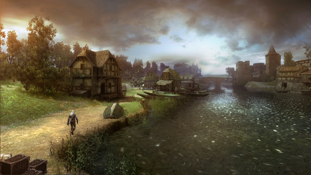 Mirad qué cielo [Galería de The Witcher: Rise of The White Wolf]