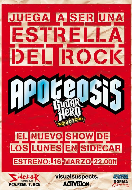 Prepárate para Apoteosis, el campeonato Guitar Hero: World Tour más cool del Planeta [Freak World Barcelona]