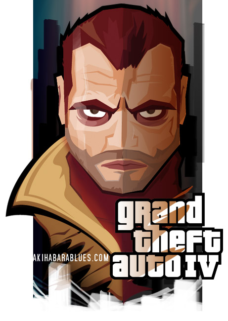 Niko Bellic by Roswell [GTA IV Fan Art]