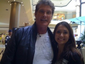 Foto del año: Jessica Chobot y David Hasselhoff [Freak World]
