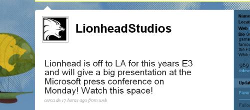 [E3 2009] Molyneux ya comienza a hypear su próximo videojuego