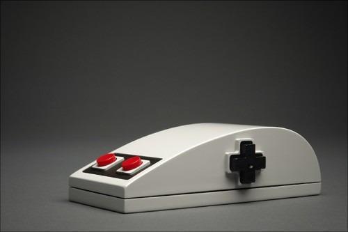 El ratón que parece un mando de NES [Freak World]