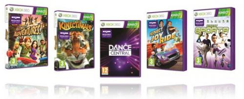 [E3 2010] Las portadas de los juegos de Kinect