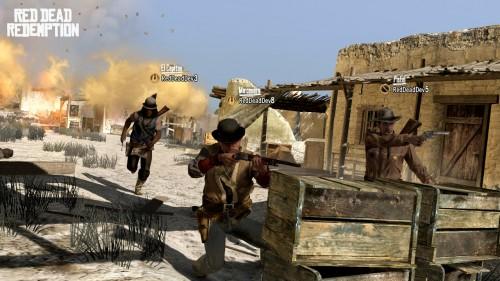Red Dead Redemption: Galería y Nota de Prensa de la DLC «Forajidos hasta el Final»