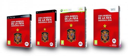 La nueva portada del FIFA Copa del Mundo Sudáfrica 2010 es totalmente awesome