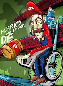 Super Mario y Roswell, protagonistas en el Museo Matadero de Madrid