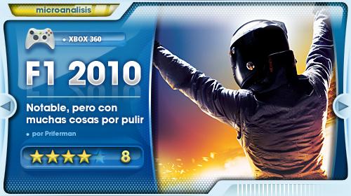 Análisis de F1 2010