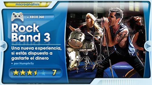 Análisis Rock Band 3 para Xbox 360