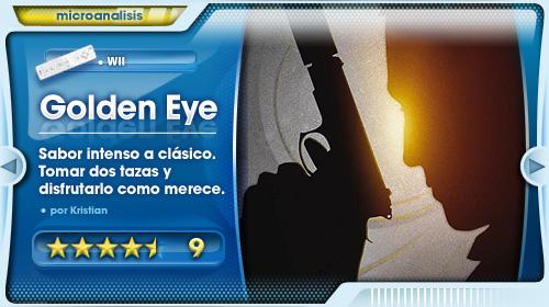 Análisis de GoldenEye para Wii