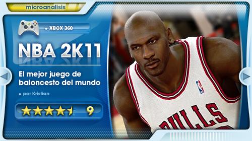 Análisis de NBA 2K11 para Xbox 360