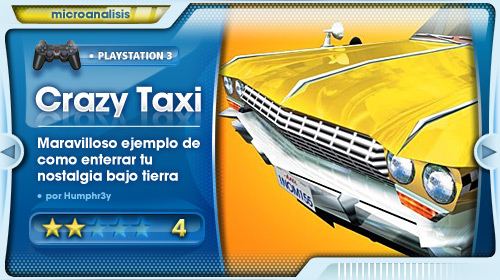 Análisis de Crazy Taxi para PlayStation 3