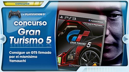 Regalamos un Gran Turismo 5 firmado por Kazunori Yamauchi