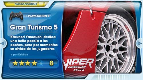 Análisis de Gran Turismo 5 para PlayStation 3