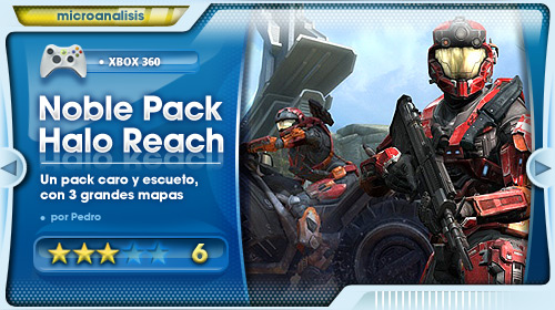 Análisis Noble Map Pack para Halo: Reach