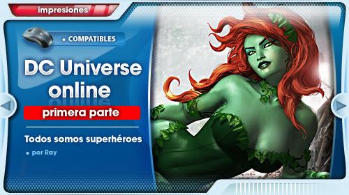 Impresiones con DC Universe Online para PS3 #1: Toma de contacto