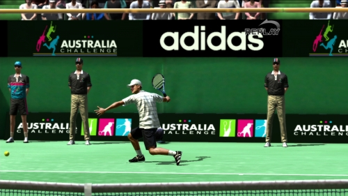 L'égalité. Service monsieur Virtua Tennis 4
