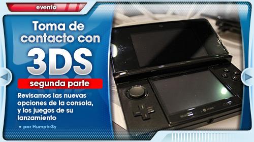Impresiones con la Nintendo 3DS (y II)