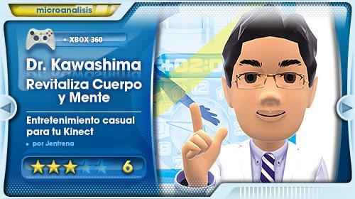 Análisis de Dr. Kawashima Revitaliza Cuerpo y Mente para Xbox 360 Kinect
