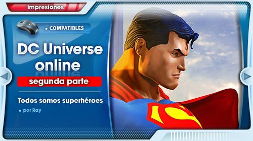 Impresiones con DC Universe Online para PS3 #2: Subiendo de nivel
