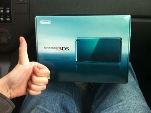 Las fechas de lanzamiento están para pasárselas por el forro: Nintendo 3DS ya a la venta