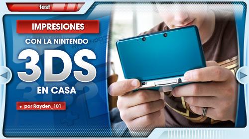 Con la Nintendo 3DS en casa