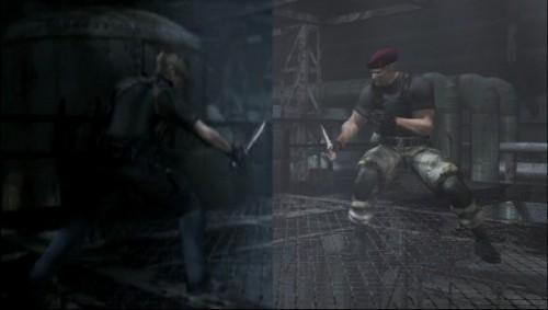 Imágenes comparativas de Resident Evil 4 y Code Verónica X con sus versiones HD