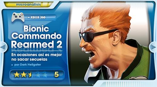 Analisis de Bionic Commando Rearmed 2 para Xbox 360