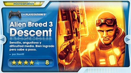 Análisis de Alien Breed 3: Descent para PS3