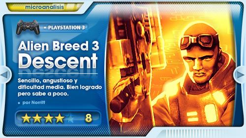 Análisis de Alien Breed 3: Descent para PS3