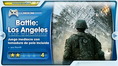 Análisis de Battle: Los Angeles para Xbox 360