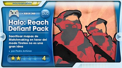 Análisis del pack de mapas Defiant para Halo: Reach para Xbox 360