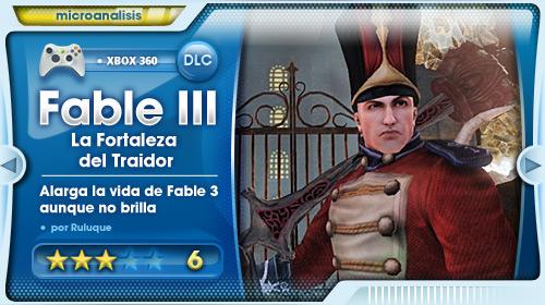 Análisis de Fable III: La Fortaleza del Traidor para Xbox 360