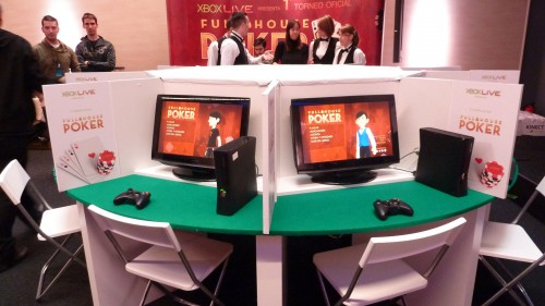 Timbas de póker con Microsoft