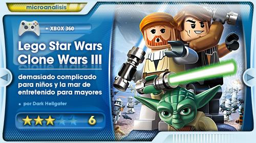 Análisis de Lego Star Wars III: Las Guerras Clon para Xbox 360