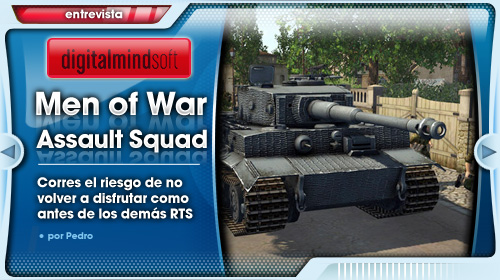 Entrevista a Digitalmindsoft, creadores de MoW: Assault Squad