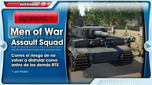 Entrevista a Digitalmindsoft, creadores de MoW: Assault Squad