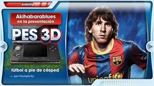 Fútbol a pie de césped [Presentación PES 3D en Madrid]