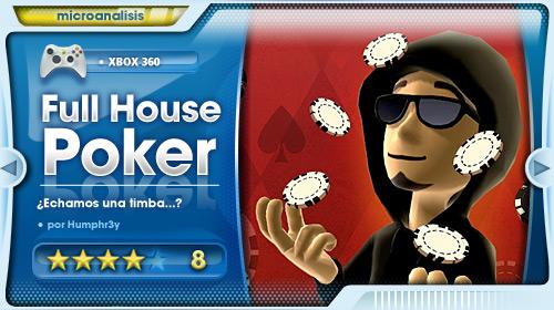 """Si te gusta el Póker, Full House Poker es tu juego"" [Análisis Xbox 360]"