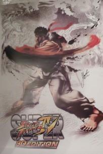 ¿Quieres un póster de Street Fighter IV 3D firmado por Yoshinori Ono?