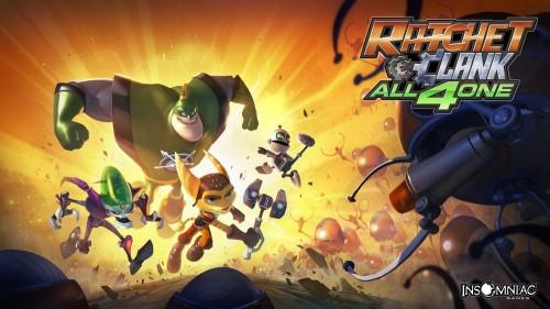 Como si fuese una película de Pixar: Espectacular anuncio de Ratchet and Clank All 4 One