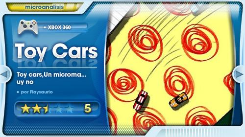 Análisis de Toy Cars para Xbox 360
