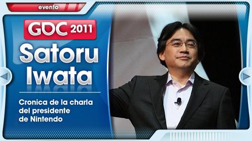 Crónica de la charla de Satoru Iwata en la GDC 2011