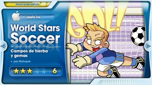 Análisis de World Stars Soccer para iPhone/iPod Touch