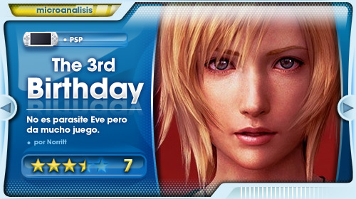 Análisis de The 3rth Birthday para PSP/PSP Go