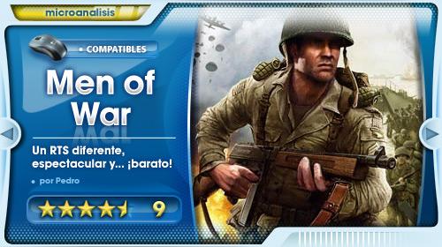 «Men of War ofrece algo más que el resto de RTS» [Análisis PC]